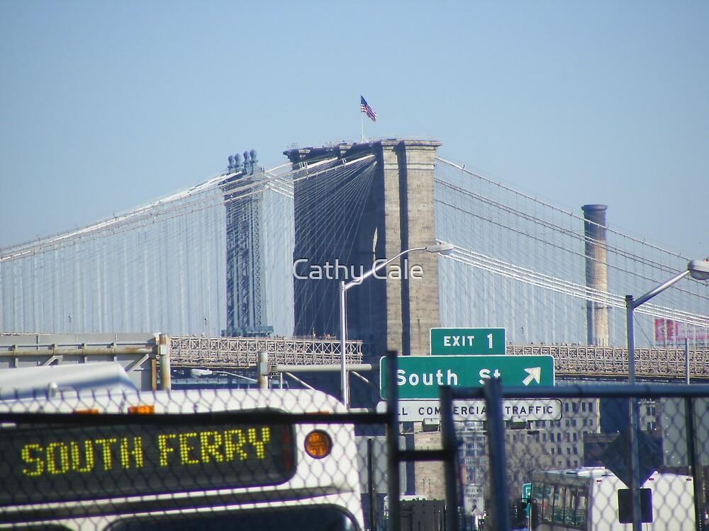 Brooklyn Bridge by Cathy Cale