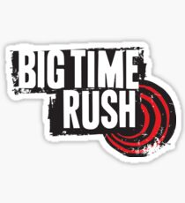 big time rush sticker Sticker