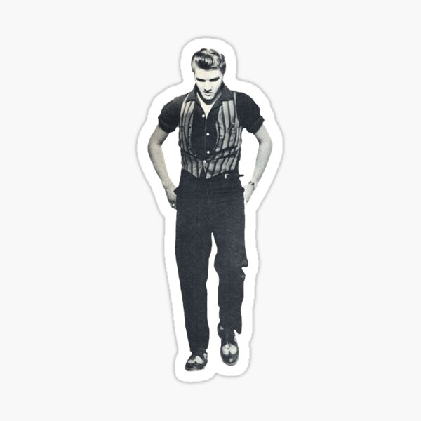 Elvis Sticker Sticker