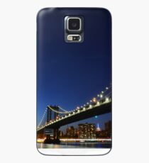 Funda/vinilo para Samsung Galaxy The Manhattan Bridge Nueva York