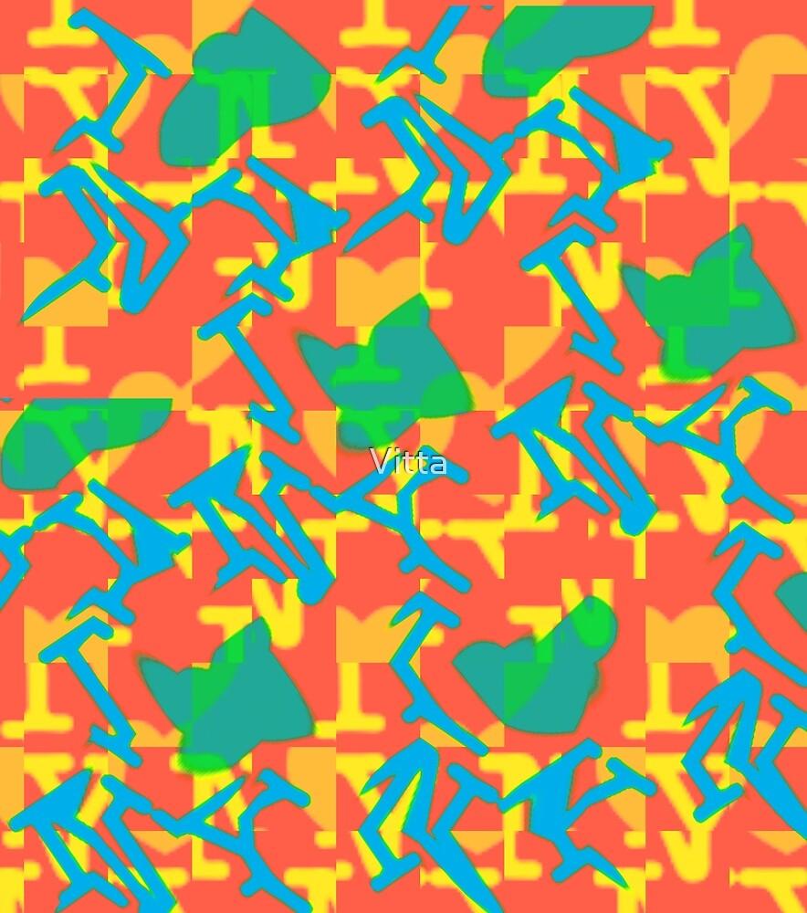 Pop Art Abstract RR by Vitta