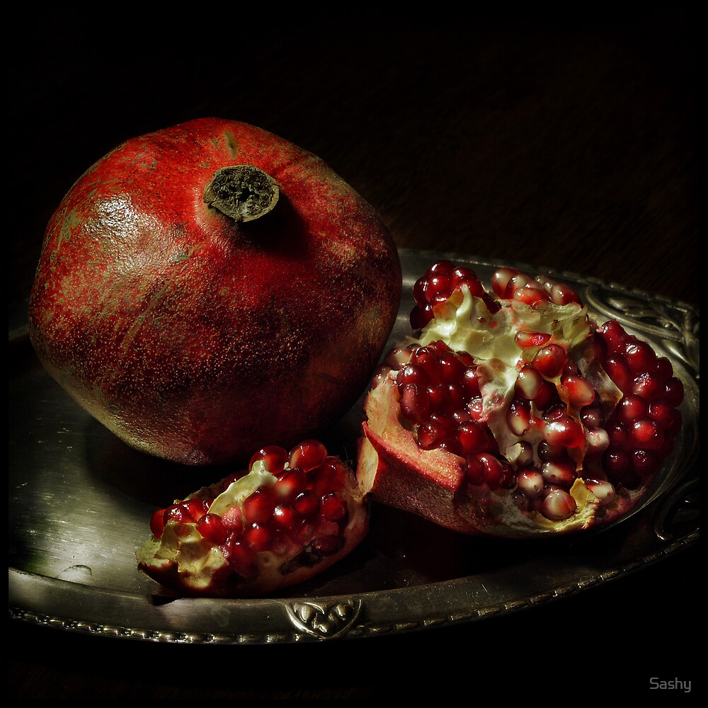 Pomegranate by Sashy Redbubble