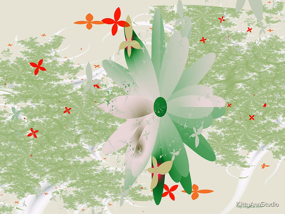 Floral Dreams by KittyAnnStudio