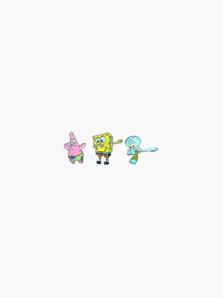 Spongebob tupfen von naomisomerset