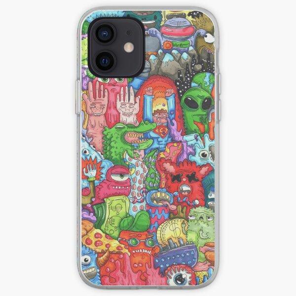 Doodle Art iPhone Soft Case