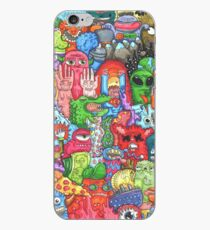 Doodle Art iPhone Case