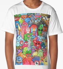 Doodle Art Long T-Shirt