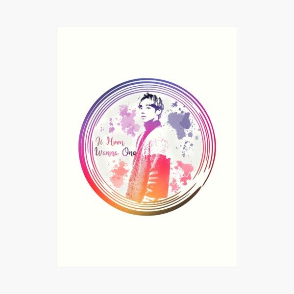 Jihoon Wanna One Art Print