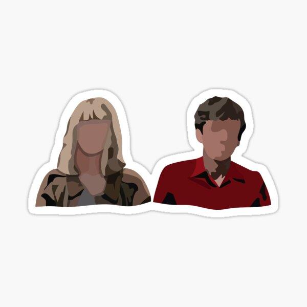 James and Alyssa TEOTFW Sticker