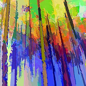 Abstract Trees by posyrosie