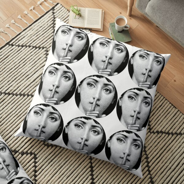 [Ephemeral Curiosities] shhhhhhh Floor Pillow