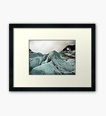 glacier Framed Print