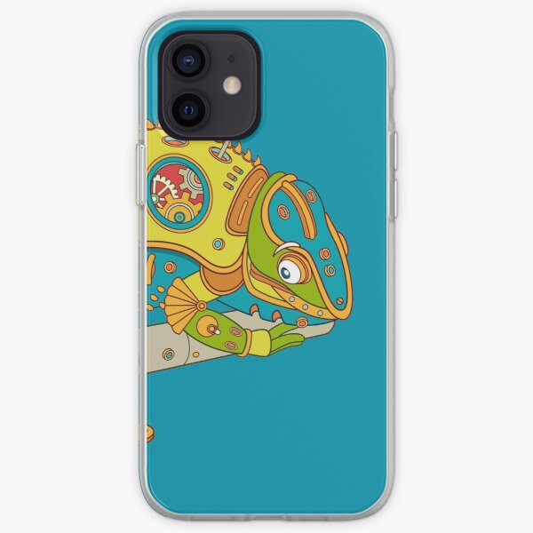 Chameleon, from the AlphaPod collection iPhone Soft Case