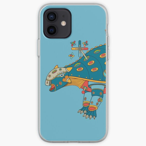 Dinosaur, from the AlphaPod collection iPhone Soft Case