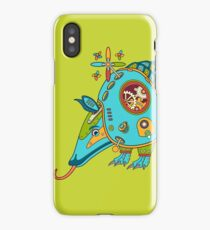 Armadillo, from the AlphaPod collection iPhone Case