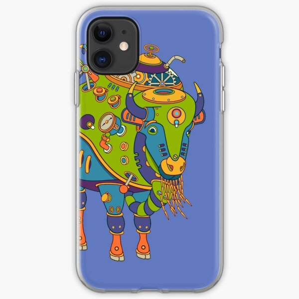 Bison, from the AlphaPod collection iPhone Soft Case