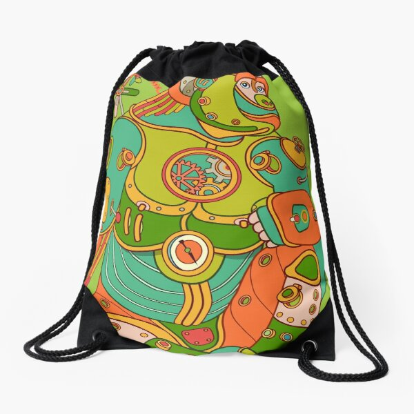 Gorilla, from the AlphaPod collection Drawstring Bag