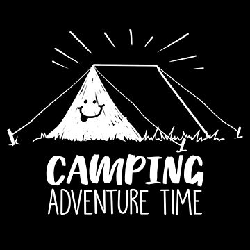 Happy Camper Camping Tent by MagneticMama