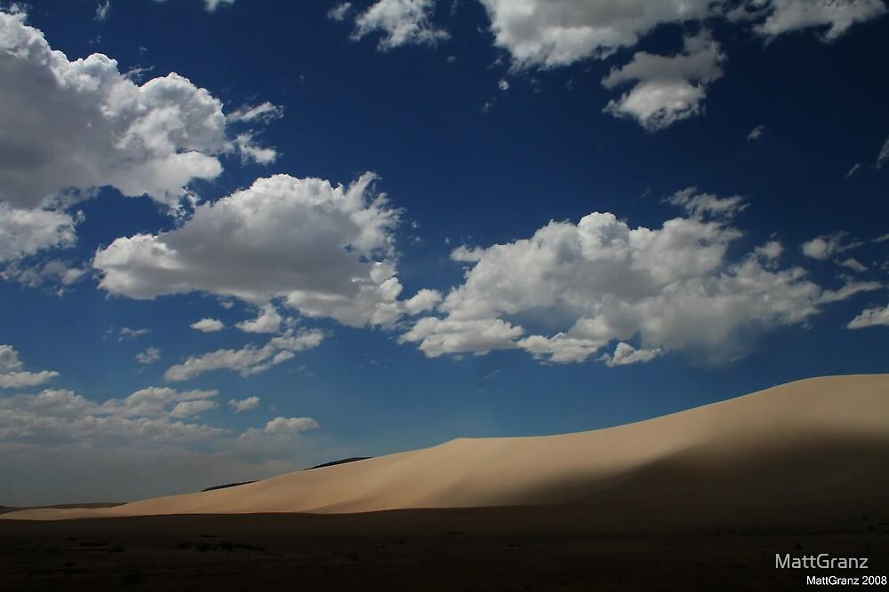 Desert Shadows, Nevada by MattGranz