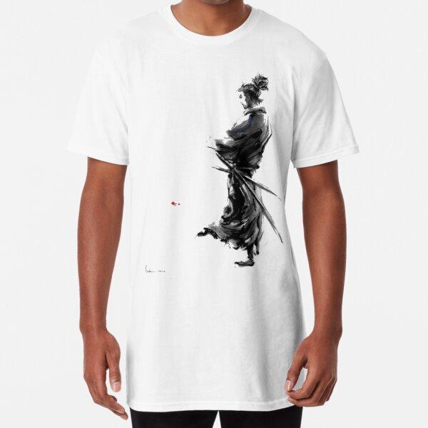 Miyamoto Musashi (Vagabond) Long T-Shirt