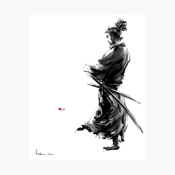 Miyamoto Musashi (Vagabond) Photographic Print