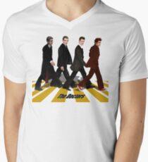 walk together at abbey road Men's V-Neck T-Shirt