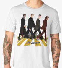 walk together at abbey road Men's Premium T-Shirt