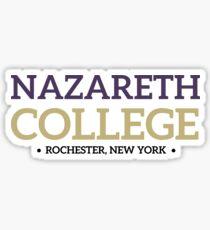 Nazareth College Sticker