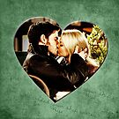 Captain Swan Heart Design 5 by Marianne Paluso