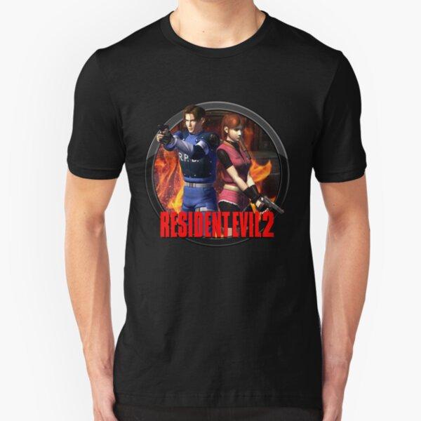 Resident Evil 2  Slim Fit T-Shirt