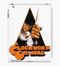 A Orange Kubrick iPad Case/Skin