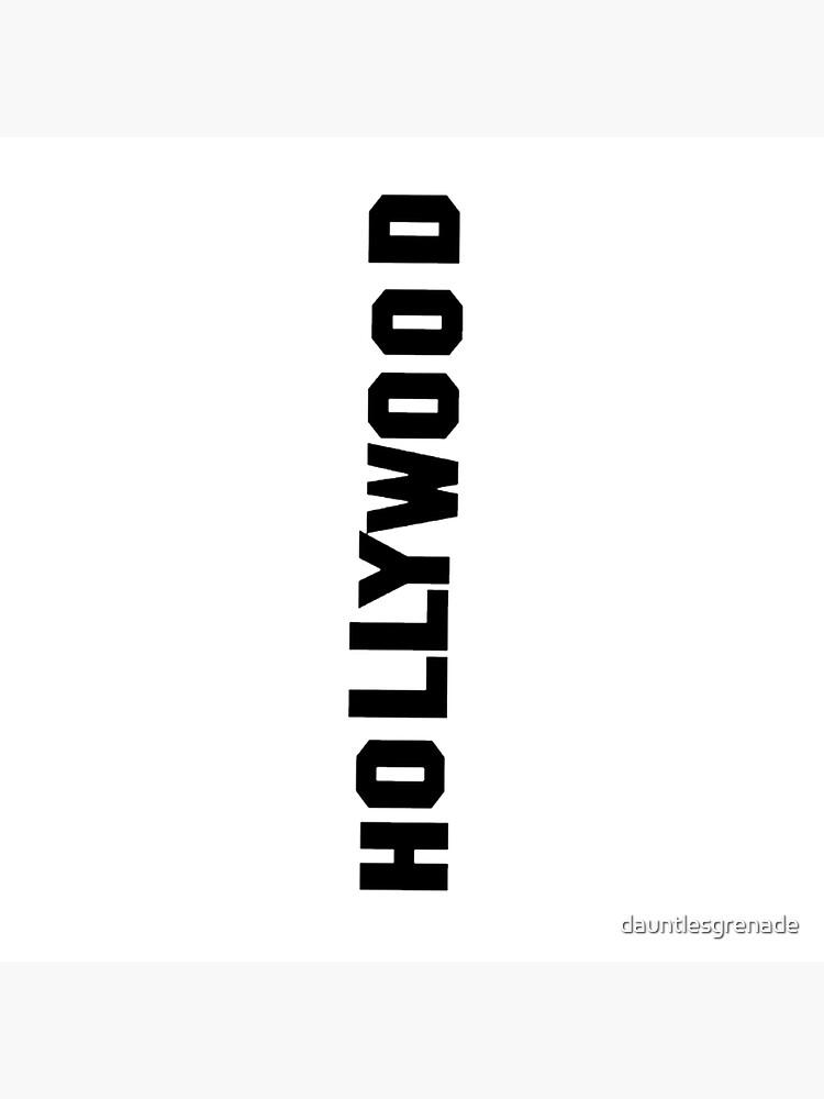 Hollywood-Schriftzug von dauntlesgrenade