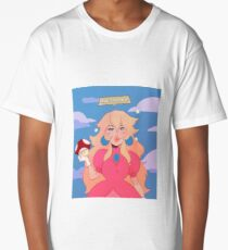 Princess Peach - Grow the F*** Up Long T-Shirt