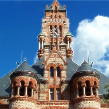 Ellis County Courthouse by iluvmyragdolls