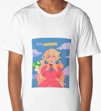 Princess Peach - Get A Life Long T-Shirt