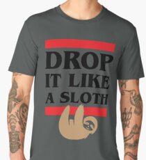 Drop it Like a Sloth Men's Premium T-Shirt
