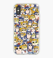 Pop Team Epic - Popuko & Pipimi Collage iPhone Case