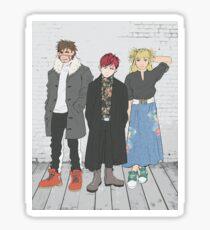 Sand Siblings Sticker