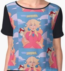 Princess Peach - Grow the F*** Up Chiffon Top