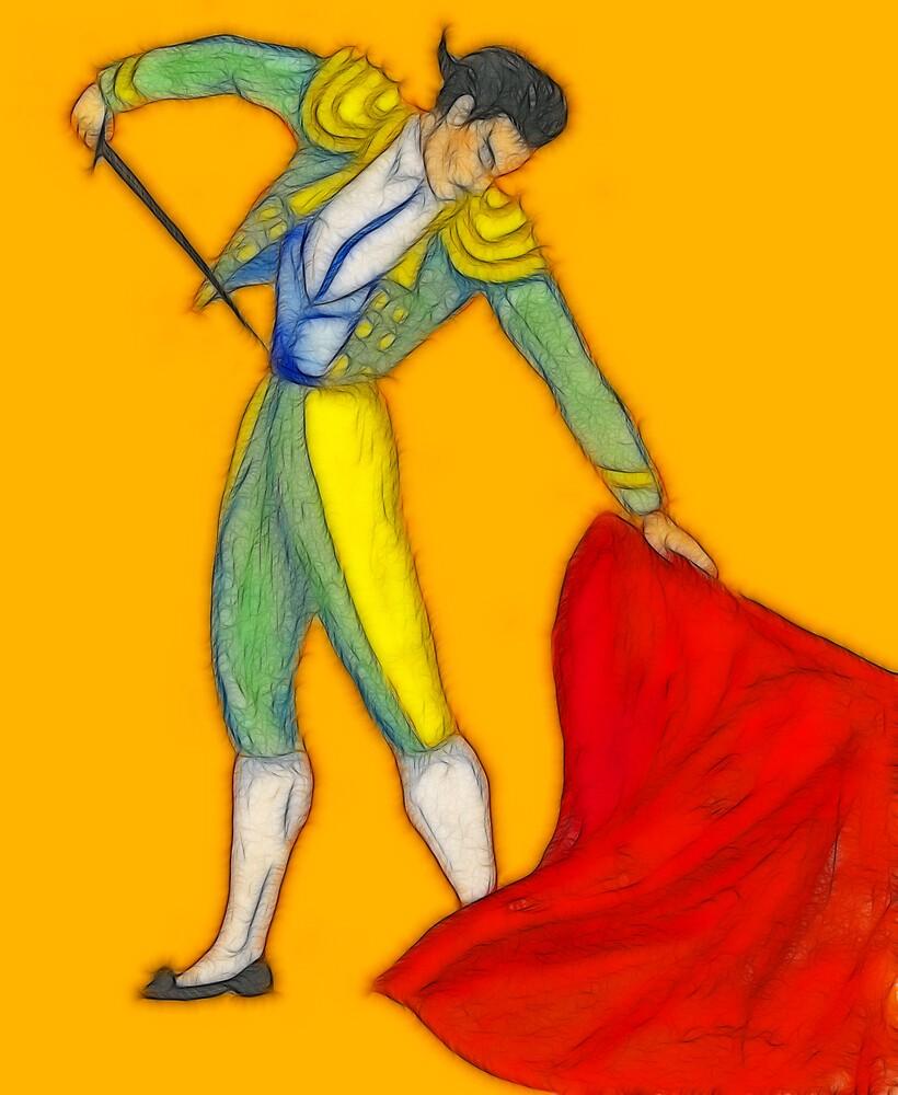 El Matador en Fractalius by Jawaher