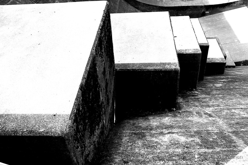 stepping stones by Allan Brannan