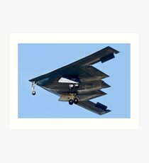 Spirit of Missouri B-2 Stealth Bomber Art Print