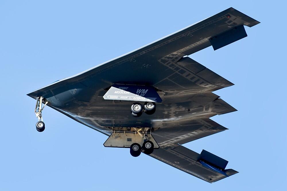 Spirit of Missouri B-2 Stealth Bomber by gfydad