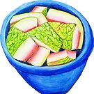 Watermelon Rinds by marlene veronique holdsworth