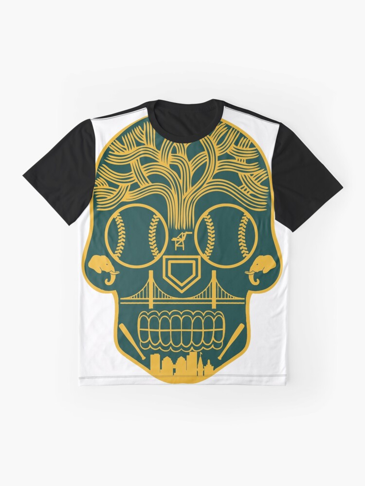 Alternative Ansicht von Oakland Zuckerschädel Grafik T-Shirt