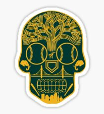 Oakland Sugar Skull Sticker