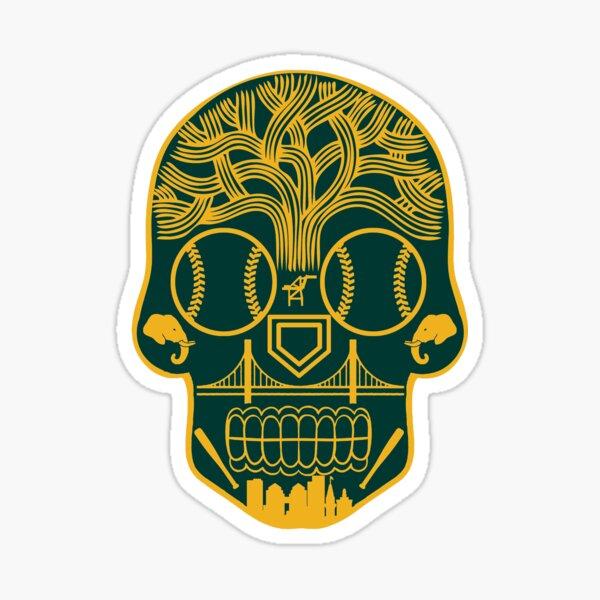 Oakland Sugar Skull Sticker
