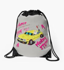 KID NAMED JASON IN A HONDA STATION Drawstring Bag