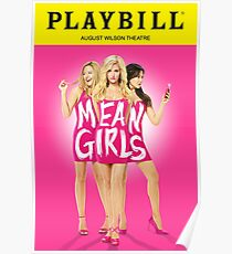 Mean Girls Playbill Poster