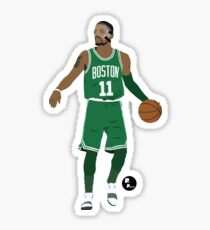 Kyrie Irving Minimalist Art 'Masked Kyrie' // Phone case, t-shirt, stickers and more Sticker